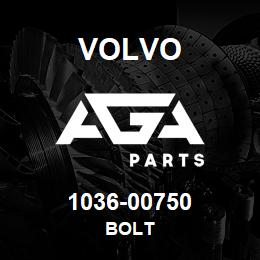 1036-00750 Volvo BOLT | AGA Parts