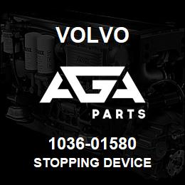 1036-01580 Volvo STOPPING DEVICE | AGA Parts