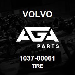 1037-00061 Volvo TIRE   AGA Parts