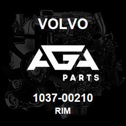 1037-00210 Volvo RIM | AGA Parts