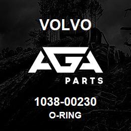 1038-00230 Volvo O-RING | AGA Parts