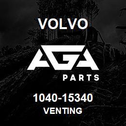 1040-15340 Volvo VENTING | AGA Parts