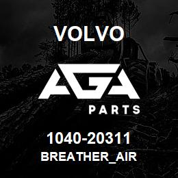 1040-20311 Volvo BREATHER_AIR | AGA Parts
