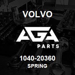 1040-20360 Volvo SPRING | AGA Parts