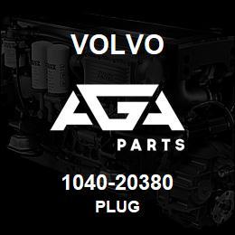 1040-20380 Volvo PLUG | AGA Parts