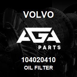 104020410 Volvo Oil Filter | AGA Parts