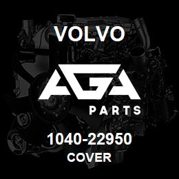 1040-22950 Volvo COVER | AGA Parts