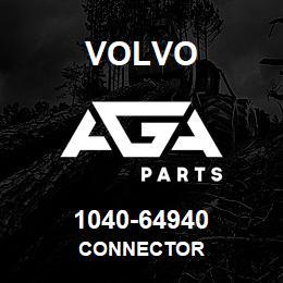 1040-64940 Volvo CONNECTOR | AGA Parts