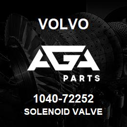1040-72252 Volvo SOLENOID VALVE | AGA Parts