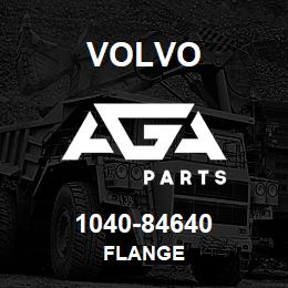 1040-84640 Volvo FLANGE | AGA Parts