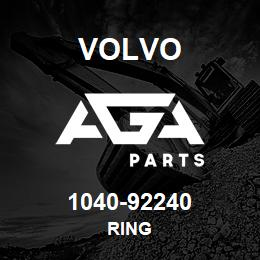 1040-92240 Volvo RING | AGA Parts