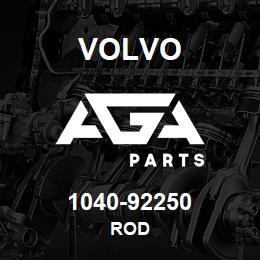 1040-92250 Volvo ROD | AGA Parts