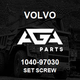 1040-97030 Volvo SET SCREW | AGA Parts