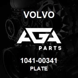 1041-00341 Volvo PLATE | AGA Parts