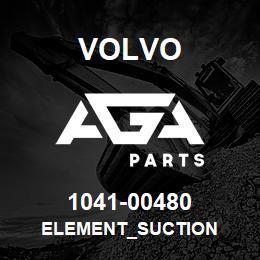 1041-00480 Volvo ELEMENT_SUCTION | AGA Parts
