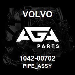 1042-00702 Volvo PIPE_ASSY | AGA Parts
