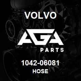 1042-06081 Volvo HOSE | AGA Parts