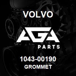 1043-00190 Volvo GROMMET | AGA Parts