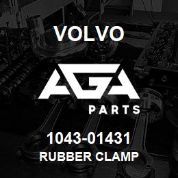 1043-01431 Volvo RUBBER CLAMP | AGA Parts
