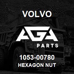 1053-00780 Volvo HEXAGON NUT | AGA Parts