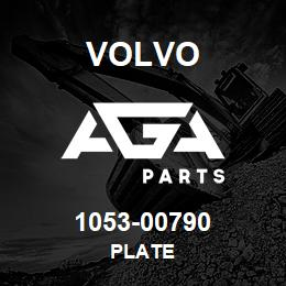 1053-00790 Volvo PLATE | AGA Parts