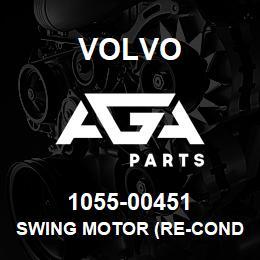 1055-00451 Volvo SWING MOTOR (RE-Conditioned) | AGA Parts