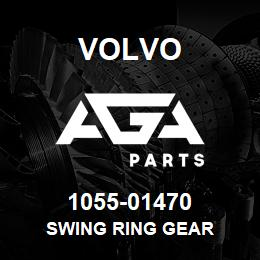 1055-01470 Volvo SWING RING GEAR | AGA Parts