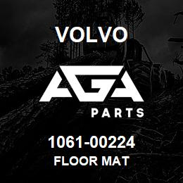 1061-00224 Volvo FLOOR MAT | AGA Parts