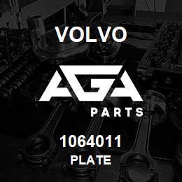1064011 Volvo Plate | AGA Parts