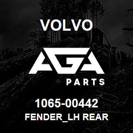 1065-00442 Volvo FENDER_LH REAR | AGA Parts