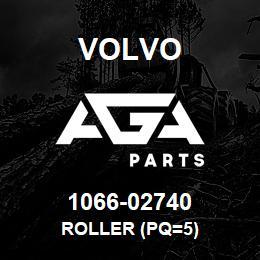 1066-02740 Volvo ROLLER (PQ=5) | AGA Parts