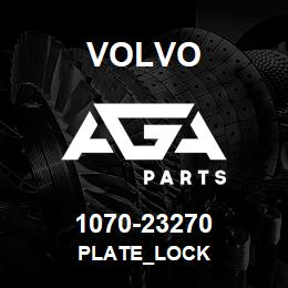 1070-23270 Volvo PLATE_LOCK | AGA Parts