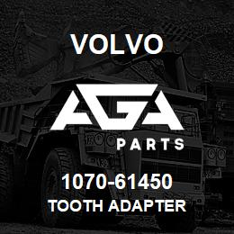1070-61450 Volvo TOOTH ADAPTER | AGA Parts