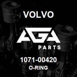 1071-00420 Volvo O-RING | AGA Parts