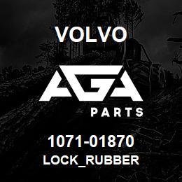 1071-01870 Volvo LOCK_RUBBER | AGA Parts