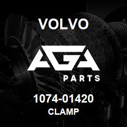 1074-01420 Volvo CLAMP | AGA Parts