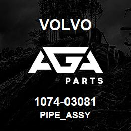 1074-03081 Volvo PIPE_ASSY | AGA Parts