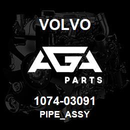 1074-03091 Volvo PIPE_ASSY | AGA Parts