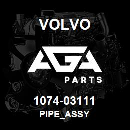 1074-03111 Volvo PIPE_ASSY | AGA Parts