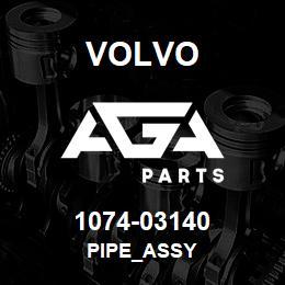 1074-03140 Volvo PIPE_ASSY | AGA Parts