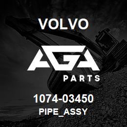 1074-03450 Volvo PIPE_ASSY | AGA Parts
