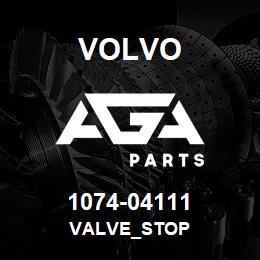 1074-04111 Volvo VALVE_STOP | AGA Parts