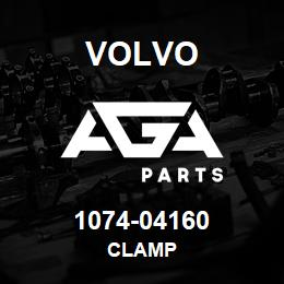 1074-04160 Volvo CLAMP | AGA Parts
