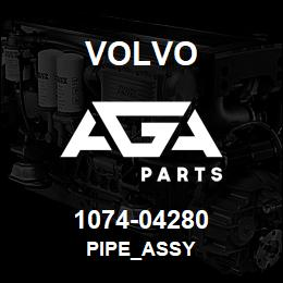 1074-04280 Volvo PIPE_ASSY | AGA Parts