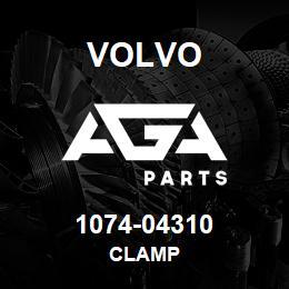 1074-04310 Volvo CLAMP | AGA Parts