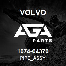 1074-04370 Volvo PIPE_ASSY | AGA Parts