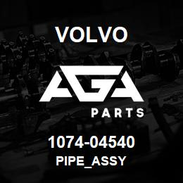 1074-04540 Volvo PIPE_ASSY | AGA Parts