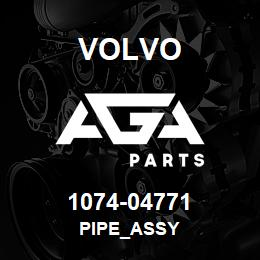 1074-04771 Volvo PIPE_ASSY | AGA Parts