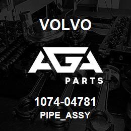 1074-04781 Volvo PIPE_ASSY | AGA Parts