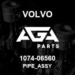 1074-06560 Volvo PIPE_ASSY | AGA Parts